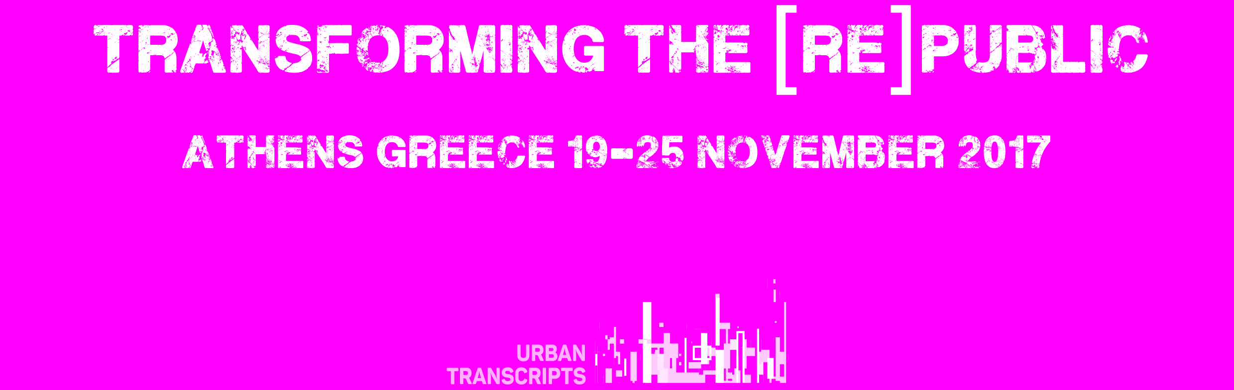 Transforming the [re]public – An Urban Laboratory on Public
